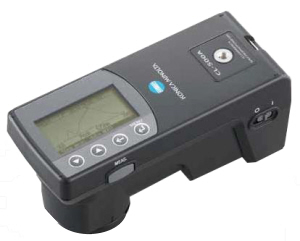 KONICA MINOLTA CL500A ILLUMINANCE SPECTROPHOTOMETER