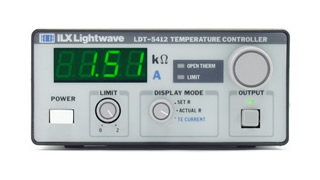 ILX LIGHTWAVE LDT5412 TEMPERATURE CONTROLLER